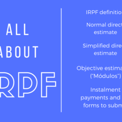all about Spanish IRPF