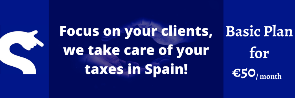 Tax and accounting management in Spain